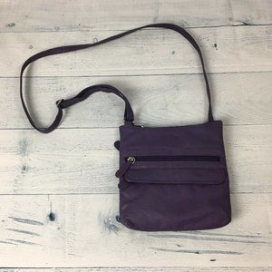 Vera Pelle Genuine Leather Crossbody Mini Bag